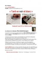 Tardi en N&B